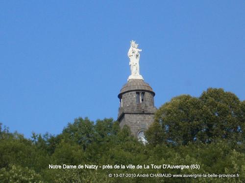 NOTRE-DAME DE NATZY - PRES DE LA TOUR D'AUVERGNE (63)
