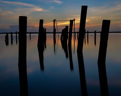 Reflections of the Pier Pilings photo by XSNRG27