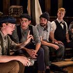Pictured: Ryan Melia, Curtis Gillen, Ben Ferguson, Matt Nuernberger and Dan Weschler. Photo by Liz Lauren.