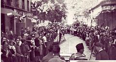 1944- Lyon- Accueil du 1er RA