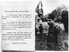 11e Cuirassiers - Le Commandant Geyer la Thivollet - Maquis du Vercors -Fonds Gérard Galland