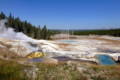 Norris Geyser Basin - Yellowstone National Park, Wyoming photo by Andrea Moscato