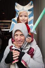 Ahsoka Tano with Dad Cosplay photo by thedot_ru