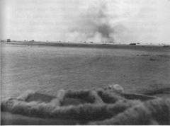 1942 Bir Hakeim - Bombardement sur Bir Hakim - FFL