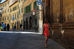 """ Siena, via Duprè "" photo by pigianca"