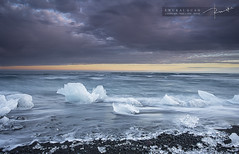 Frozen Diamonds - Jökulsárlón Beach photo by fwukai