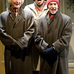 Jeremy Rill, Bethany Thomas and Andrew Goetten in SHE LOVES ME at Writers Theatre. Photos by Michael Brosilow.