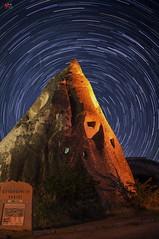 star Trailing at capadocia photo by Victor Mitri