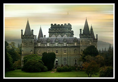 Scotland, Inverarary Castle, seat of the duke of Argyll, chieftain of the clan Campbell (Thank you Grangeburn!) photo by Elena14u2012