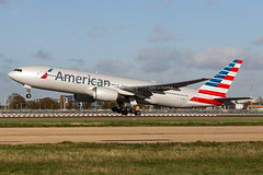 American Airlines Boeing 777-200/ER N768AA photo by LHRlocal