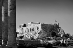 Acropolis / from Temple of Zeus photo by George Rex