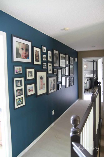 Navy Gallery Wall- Anything Pretty