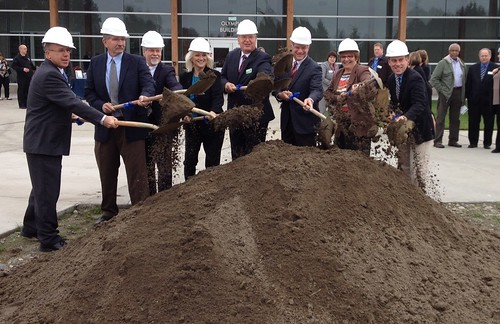 Rep. Zeiger at skills center groundbreaking