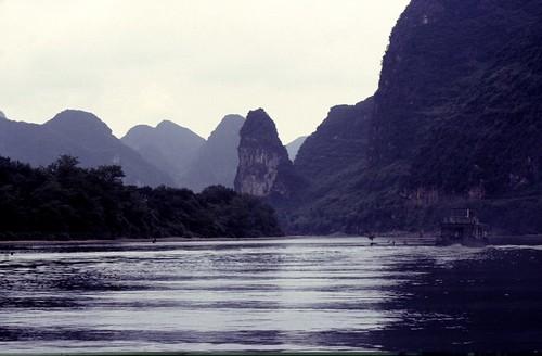 1985-CHINA 1901 10-8 Guilin Lijiang rivier