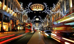 Christmas Shines Through Regent Street photo by Patrizia Ilaria Sechi