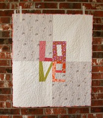 Love Baby Quilt photo by QuiltsByEmily