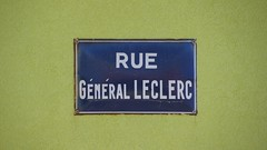 Street sign in Saint-Pierre