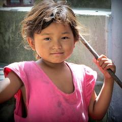 Nepali girl photo by PeterCH51