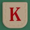 Line Word red letter K