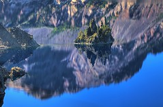 Phantom Ship - Crater Lake photo by gordeau
