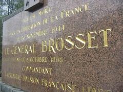 Champagney - Monument du général Brosset - Crédit photo : Alain Jacquot Boileau