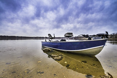 Bass Boat at Lake Ronkonkoma - Thanks for over 20,000 views. photo by RobNYCity