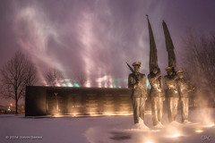 Snowy Mist at the Air Force Memorial photo by navinsarma