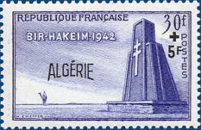Philatélie - Bir Hakeim 1942 - 1952
