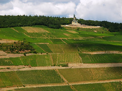 Niederwalddenkmal high above the Vineyards photo by Batikart