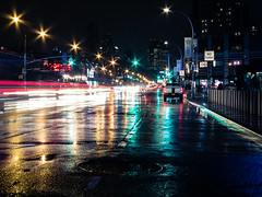 Rainy Brooklyn Night photo by matingus