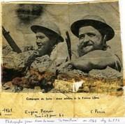 1941- Syrie- Eugène-berrou-mplf-17-juin-1941 à-gauche-Source-français-libres-net