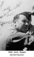 BM 4 Chambarand - 1945 Avril_Sospel_Adj_Chef_Gourdain - Fonds Emile Gauthier