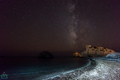 Aphrodites Rock Milky Way Beach Final photo by James G Photography