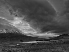 A Storm Brewing Over Beinn an Dòthaidh - Explored 21/01/14 photo by mark_mullen