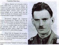 11e Cuirassiers - Capitaine  René Jury - Maquis du Vercors - MPLF- Fonds Gérard Galland