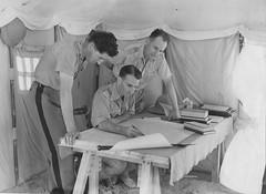 BIM- 1940- Egypte- Cdt Lorotte Lieutenant Folliot à Ismailia