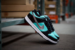 Nike SB 'Tiffany' Dunk Low photo by Justin Wolfe