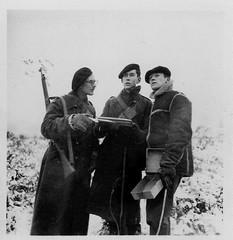 Angleterre- Joseph duchene et juif Old Dean Camp janvier 41 - Fonds Jean Mathieu Boris