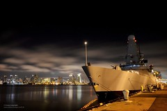 HMS Daring visits San Diego, California photo by Defence Images