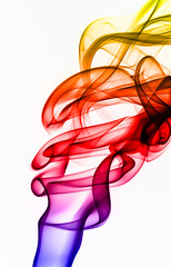 Smoke abstract photo by Leigh Feaviour