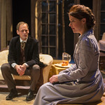 Mark L. Montgomery (Eilert Lovborg) and Kate Fry (Hedda) in HEDDA GABLER at Writers Theatre.  Photo by Michael Brosilow.9