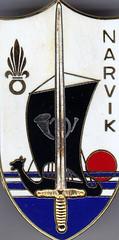 Insigne promotion  Narvik - Col. Blandine Bongrand Saint Hillier