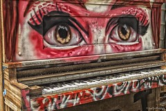 Old Piano_HDR photo by Kool Cats Photography over 5 Million Views
