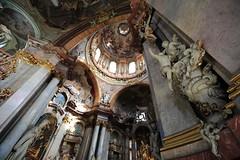 神聖的呼喚 ~聖尼古拉教堂(小城區)St. Nicholas Church of Malá Strana Prague~ photo by PS兔~兔兔兔~