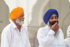 Deux Portraits au temple d'Or Amritsar India Look at my album 2013 India photo by geolis06