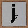 Word Game letter j