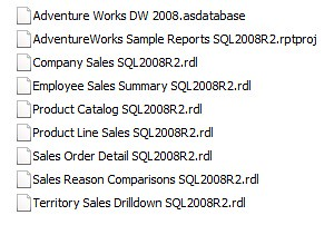 AdventureWorks Sample Reports