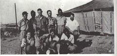 BP- 1941 - Palestine -  devant l'infirmerie- Mémoires de Roger Ludeau