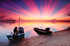 """Rays from Nature"" photo by tuan azizi"