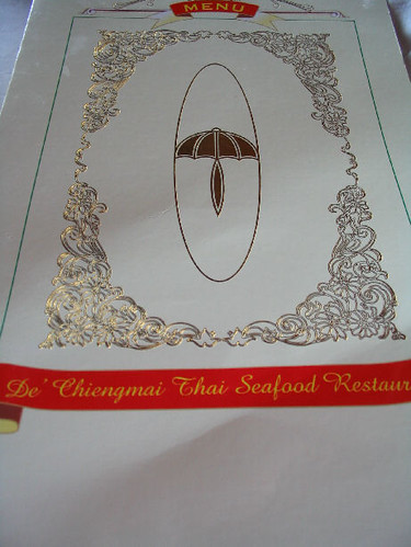 De Chiengmai Menu